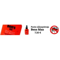 BENS MAX  sääsetõrie pumpsprai 37ml