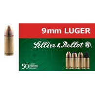 Padr.Sellier&Bellot 9mmLuger FMJ Subs.9g