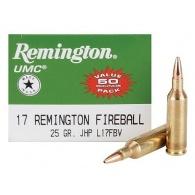 Padr.Remington 17Rem Fireball JHP 1,62g