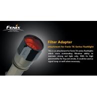 Filter Fenix punane suur AD302-R
