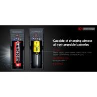 Akulaadija Klarus USB 1le akule
