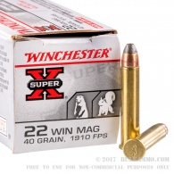 Padr.Winchester 22WMR SuperX 2,6g 582m/s