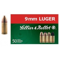 Padr.Sellier&Bellot 9mm Luger FMJ 8g