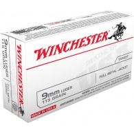 Padr.Winchester 9mm Luger FMJ 7,5g